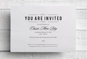 formal invitation template for an event event invitation designs free premium templates