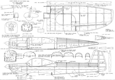 free rc plans emeraude article plans april 1969 american aircraft