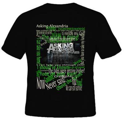 Kaos Band Polyflex Gildan Asking Alexandria kaos asking alexandria 3 kaos premium