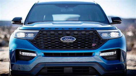 Ford Explorer St 2020 by 2020 Ford Explorer St Comes Into The World As The Most