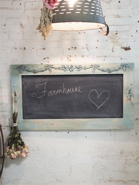 painted cottage chic shabby large chalkboard hd40 125