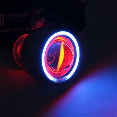 Sale Projector Hid Bixenon Fireball best sale hid bi xenon motorcycle projector lens kit h7 h1 h4 bule eye eye
