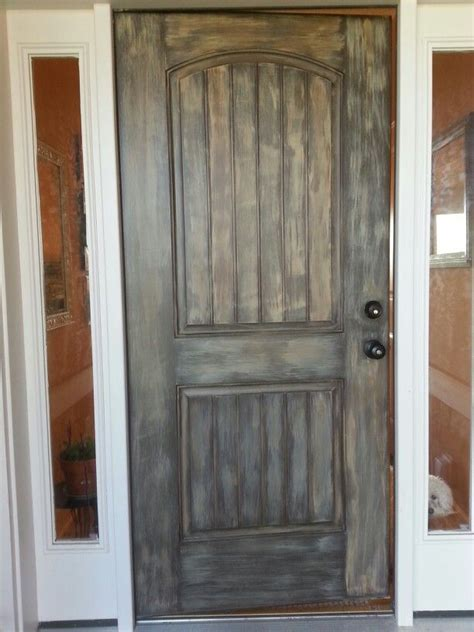 faux wood paint on our front door painting ideas - Faux Wood Paint Front Door