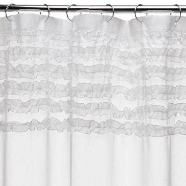 ruffle shower curtain target ruffles shower curtain target