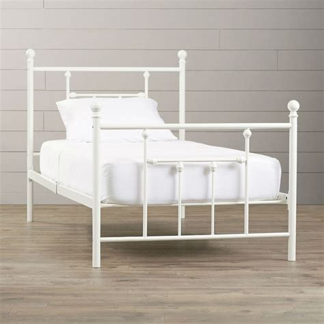 white metal double headboard 25 best ideas about twin platform bed frame on pinterest