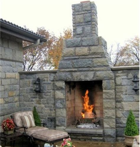 backyard fireplace kits outdoor fireplace kits 36 in pre engineered masonry