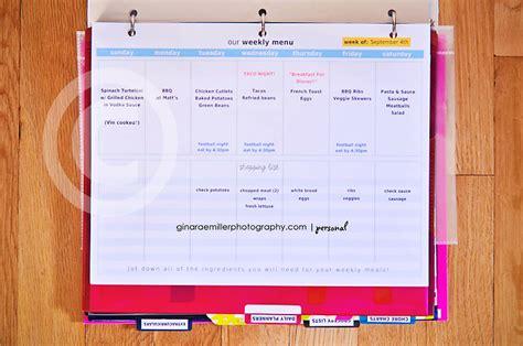 printable home organization binder 7 best images of binder organization printable papers