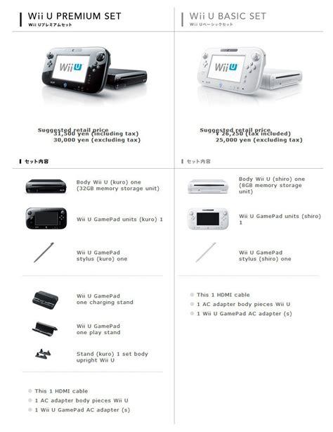 Gamis Set Jipon Premium Black wii u basic vs premium bundle difference revealed