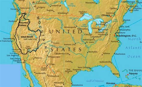 map of the united states great basin room 51 u s history 15 major physical features of the u s