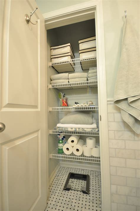bathroom closets house tour