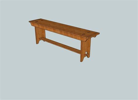 walnut shaker style bench  jackmoony  lumberjockscom