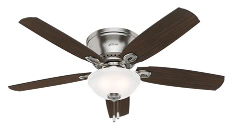 hunter fan support number 52 quot brushed nickel chrome ceiling fan eastpoint 53286