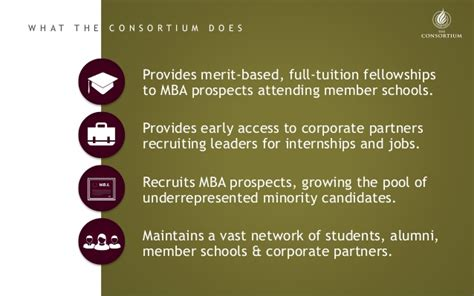 Where Is The Consortium Mba Based by 50 Years Of History The Consortium For Graduate Study In