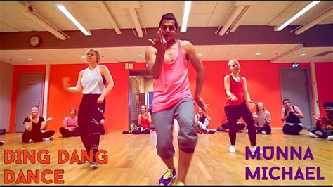 tutorial dance on ding dang ding dang dance munna michael youtube