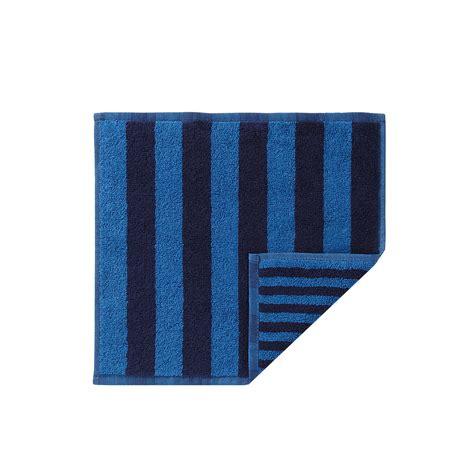 navy blue towels bathroom marimekko kaksi raitaa navy blue washcloth marimekko