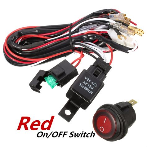 40 road atv jeep led light bar wiring wiring diagram