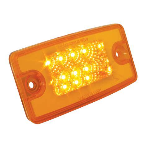 led marker lights freightliner cab visor spyder led marker light grand