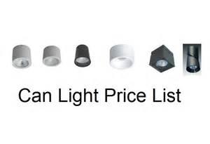light list can light price list tecled led flat flex led