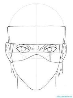 Draw Anime or Manga Faces | Easy drawings, Character