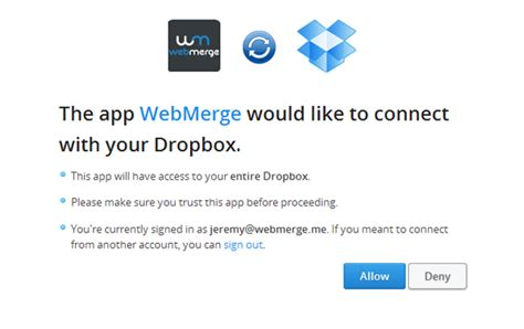 dropbox web login dropbox webmerge support