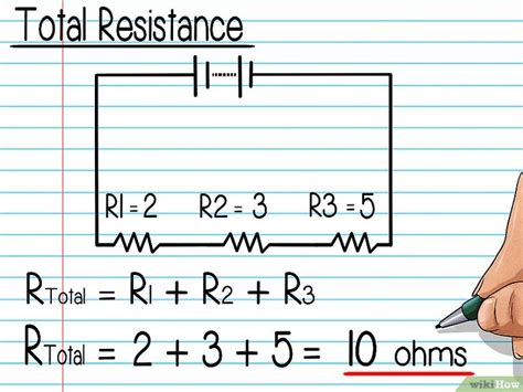resistor joule calculator كيفية حساب فرق جهد مقاومة wikihow