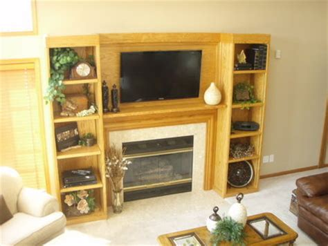 Bookcase Fireplace Surround by Fireplace Surround W Bookcases By Nd2elk Lumberjocks