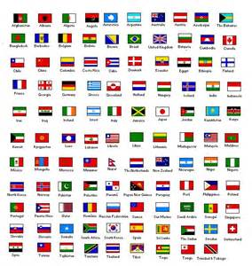 names of countries in and flags and names of countries poster color forums color