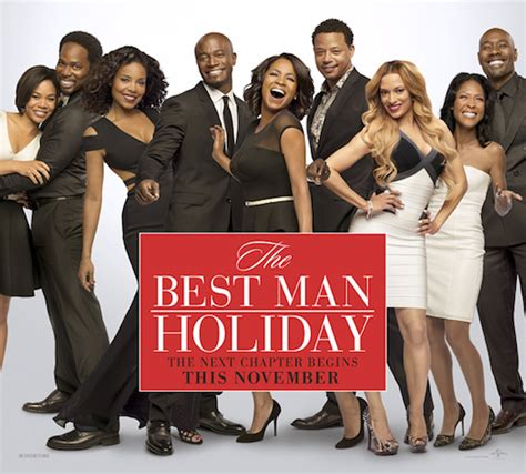 Best man holiday cast white guy with braids