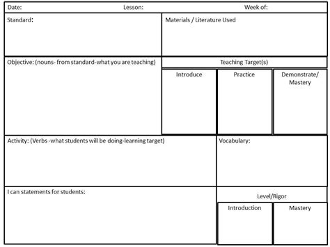 stem lesson plan template letter world