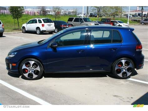 2010 Volkswagen Gti Blue 200 Interior And Exterior Images