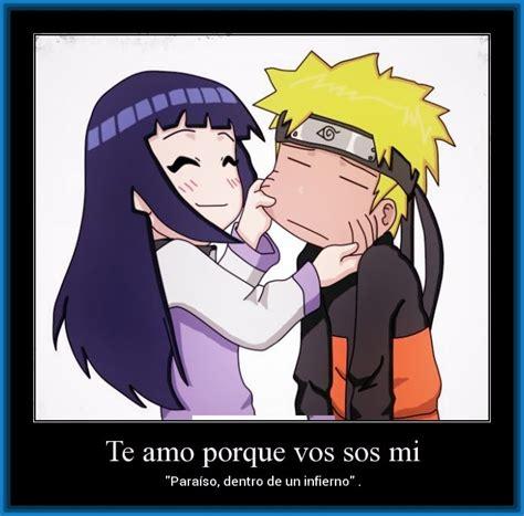 imagenes anime naruto amor fotos de amor anime con frases de quot naruto quot imagenes de anime