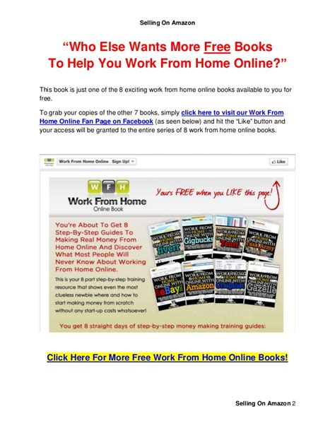 Work For Amazon Online From Home - selling on amazon to work from home online