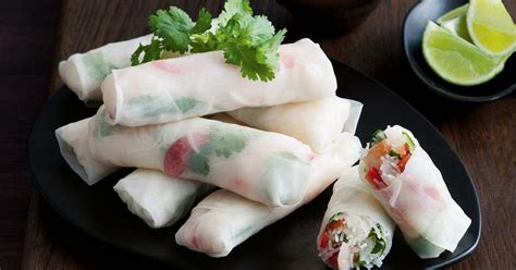 Rice Paper Rolls In Advance - rice paper rolls