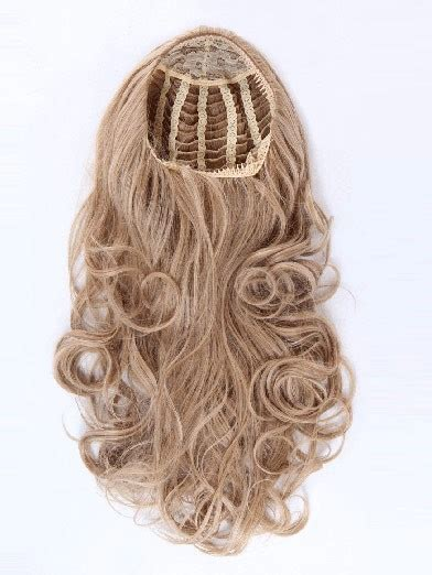 Half Wig Wavy lovely wavy synthetic half wig hairpieces ireland