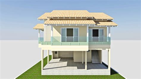 section 8 cpia 3d model cad home house