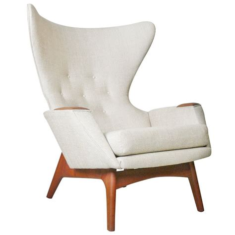 modern wingback adrian pearsall for craft associates modern wingback chair