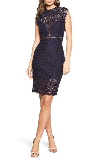 Bardot Lace Sheath Dress Black by Bardot Lace Sheath Dress Nordstrom