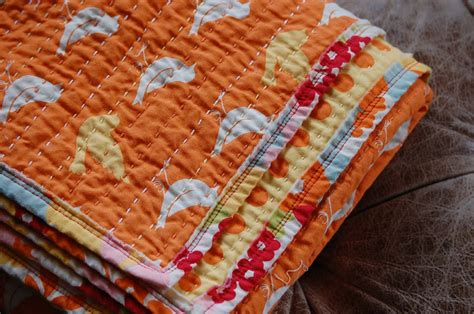 Kantha Quilt by Being Me Sippin Tea Kantha Quilting