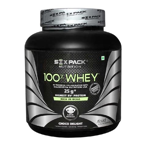 Six Pack 100 Whey Protein six pack nutrition 100 whey 4 4 lb choco delight other sports supplements