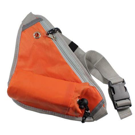 Sport Pouch Belt Orange fashion unisex outdoor sports pack waist belt pouch travel handy bum bag orange travel bags