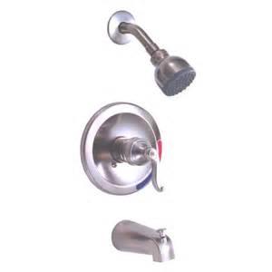 peerless 875 405 brushed nickel tub shower faucet ebay