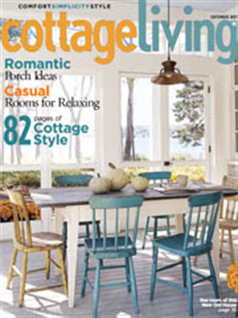 cottage living magazine subscription home sweet home inspiration september 2007