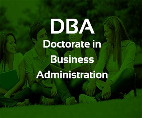 Dba Mba Phd by Dba Doctorate In Business Administration Binary