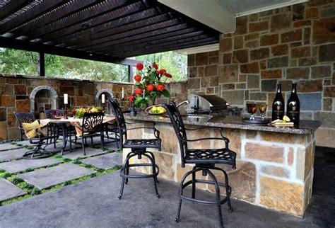 Bar Exterieur De Jardin by Am 233 Nagement Jardin Ext 233 Rieur Et Id 233 Es D 233 Co Cosy En 40 Photos