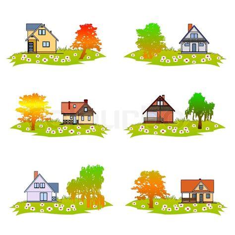 garden layout vector home and garden vector stock vector colourbox