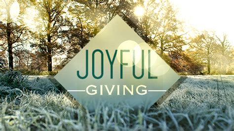 Joyful Giving joyful giving archives living word community church