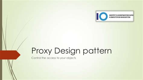 pattern proxy proxy design pattern