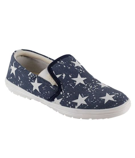 shoes n style blue canvas shoes price in india buy shoes