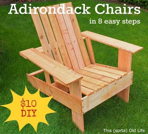 How To Make A Wooden Chair by Diy Adirondack Chair In 8 Easy Steps Home Design Garden