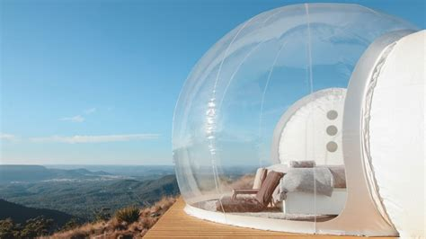 bubble tent australia s first bubble tent spot is perfect for stargazing